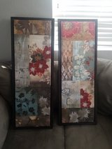 Painted canvas wall decor pier one in Lake Elsinore, California