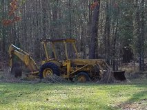 Old Ford Backhoe FOR PARTS ONLY in Moody AFB, Georgia