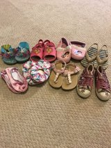 Size 9 toddler girl shoes in Bolingbrook, Illinois