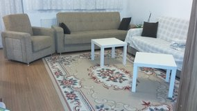 sofa set foldable and box below. in Ramstein, Germany