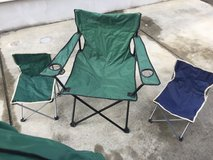camping chairs in Okinawa, Japan