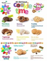 Girl Scout Cookies in Vacaville, California