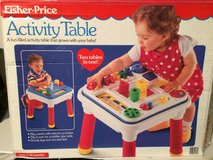 Fisher Price Activity Table 2-in-1 in box in Lockport, Illinois