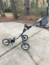 Golf push cart in Beaufort, South Carolina