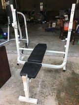 weight bench - no bar in Beaufort, South Carolina