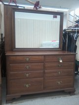 Check it out! Excellent dresser and mirror in Louisville, Kentucky