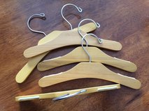 Baby / Childrens Boutique Wooden Hangers in Lockport, Illinois