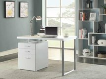 OFFICE DESK W REVERSIBLE FILE FREE DELIVERY in Huntington Beach, California