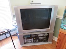 "Sony Trinitron Trusurround TV and swivel stand, 37"" in Warner Robins, Georgia"