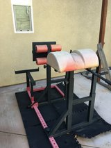 Adjustable Abs/Core fitness and rack set in Vista, California
