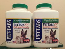 Pet-Tabs CF calcium formula for dogs and cats in Glendale Heights, Illinois