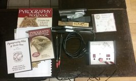 Razertip Woodburning Kit For Sale...  Comes with different tips, videos, books, etc... in Fort Lewis, Washington