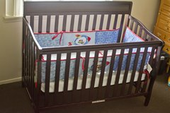 BABY CRIB / BED WITH MATTRESS in Barstow, California
