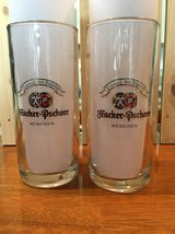 One Pair of stylish and sturdy Hacker-Pschorr Munchen .5 liter beer mugs in Okinawa, Japan