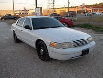 ford crown victoria police in Conroe, Texas