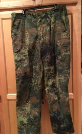 German Flecktarn Trousers in Camp Lejeune, North Carolina