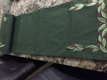 Holiday table runner in 29 Palms, California