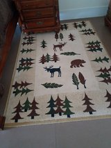 Bears, Moose and Trees Rug 5x8 in Cochran, Georgia