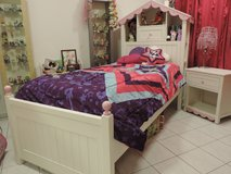 Girls Twin Dollhouse Bedroom Set in Ramstein, Germany