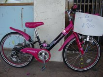 girls bike for child in Okinawa, Japan