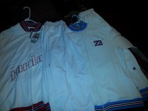 Jordan jumpsuits one set all white XL and the second set off white  both for 150 or buy them des... in Byron, Georgia