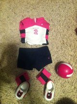 American girl doll volleyball outfit in Camp Pendleton, California