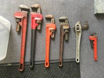 Pipe wrenches (3 total left) in Bartlett, Illinois