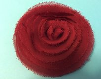 Thirty-One Flat Rosette Clip in Red in Fort Leonard Wood, Missouri