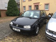 Black VW Golf IV Special edition in Spangdahlem, Germany