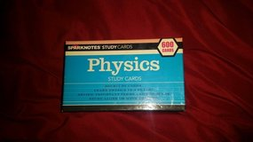 Sparksnotes Physics Study Cards ct. 600 in Sandwich, Illinois