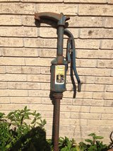 Antique pump in Baytown, Texas