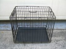 FOLD UP METAL ANIMAL CAGE/CRATE in Byron, Georgia