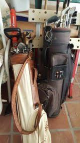 Golf clubs in bag in Alamogordo, New Mexico