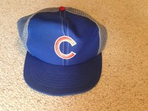 Cubs baseball hat in Naperville, Illinois