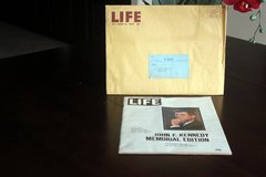 JFK Memorial Edition of Life Magazine. in CyFair, Texas