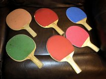 Ping Pong Paddles (6) in Naperville, Illinois