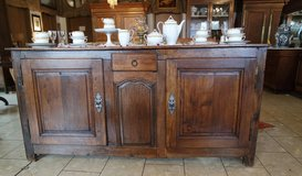 beautiful rustic buffet from the 1850's in Stuttgart, GE
