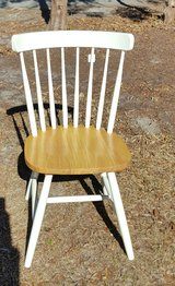 White chair in Camp Lejeune, North Carolina