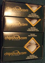 New chipshot distance high performance two-piece golf balls Set of 12 in Lockport, Illinois