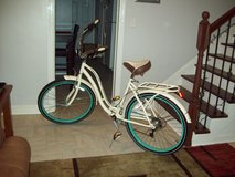 "26"" Schwinn Fairhaven Women's 7-Speed Cruiser Bike, Cream in Fort Benning, Georgia"