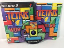 PS2 TETRIS Worlds Sony Playstation 2 Video Game Complete in Houston, Texas