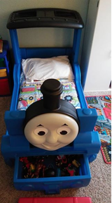 Thomas The Train Toddler Bed in Travis AFB, California