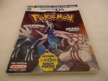 Pokemon Diamond & Pearl Version Nintendo DS Power Game Guide From Toys R Us in Kingwood, Texas