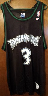 RARE Timberwolves Marbury Jersey in 29 Palms, California