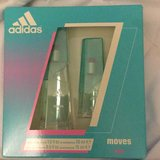 Adidas moves for her perfume in Oceanside, California