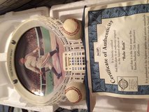 Babe Ruth collectors plate in Fort Leonard Wood, Missouri