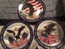 3 Eagle collectors plate in Fort Leonard Wood, Missouri
