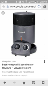 2 Honeywell Heaters $20 for Both in Fort Carson, Colorado