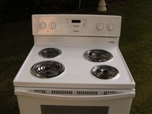 Stove-Range-White-Electric-3 months warranty in Perry, Georgia