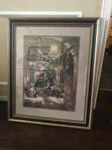 Pair of Framed Prints New Orleans French Quarter in Kingwood, Texas
